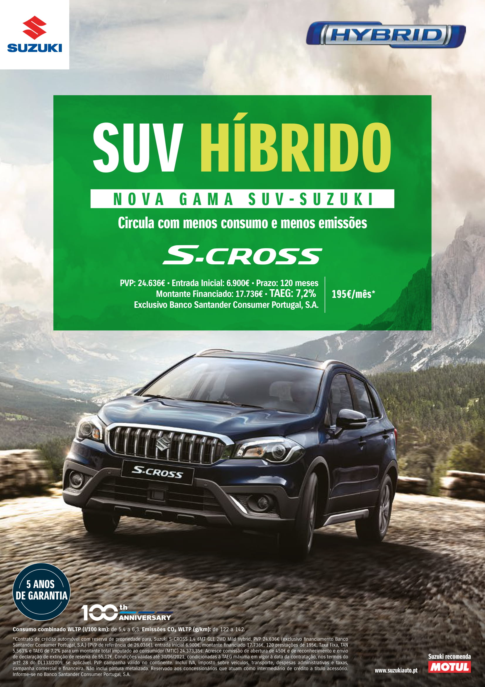 S-CROSS CUOTA
